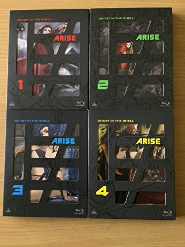 攻殻機動隊ARISE (GHOST IN THE SHELL ARISE) 全4巻セット [マーケットプレイス Blu-rayセット]