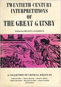 Great gatsby critical essays