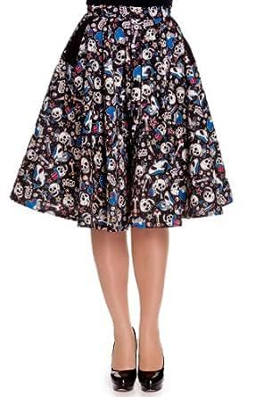 Hell Bunny Rock On Skirt (XL) [Apparel]