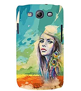 PRINTSWAG PAINTED GIRL Designer Back Cover Case for SAMSUNG GALAXAY S3