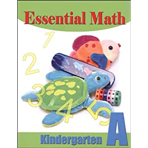 Essential Math, Kindergarten Level A