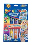 carioca art window paint 8colours happy party20ml