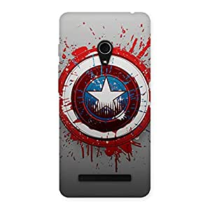 Cute Premier Blood Round Multicolor Back Case Cover for Zenfone 5