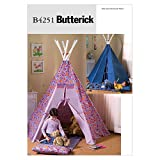 Butterick Patterns B4251 Teepee and Mat, One Size Only