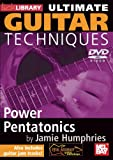 echange, troc Ultimate Guitar Techniques - Power Pentatonics [Import anglais]