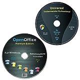 Universal Treiber-Meister CD/DVD f�r Windows 8 / 7 / Vista / XP (32 & 64 Bit) alle (PC & Laptop) Modelle + OpenOffice Pr
