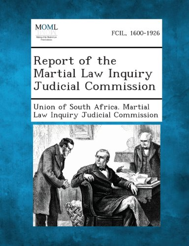Report of the Martial Law Inquiry Judicial Commission