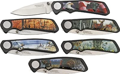 American Hunter Wildlife Fold Knife