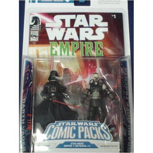 Star Wars Action Figure Comic 2-Pack Dark Horse: Empire #1 Darth Vader and Admiral Trachta jetzt bestellen