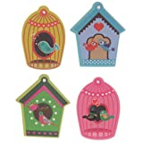 Cute Colourful Bird in Love Emery Board. A perfect gift for that Birthday Gift, Christmas Present or Fathers day gifts etc...