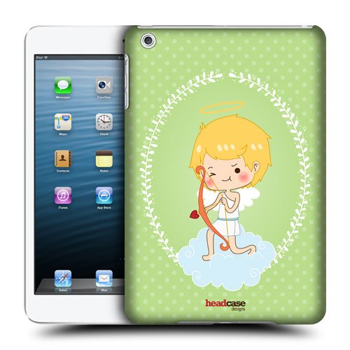 Head Case Designs Bow and Arrow Cupid Protective Snap-on Hard Back Case Cover for Apple iPad mini