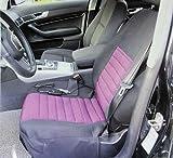 12V Auto Sitzheizung Sitzauflage 3 Stufen Rückenstütze Sitzbezüge ROT PKW