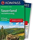 Sauerland mit Rothaarsteig: Wanderführer mit Extra-Tourenkarte, 50 Touren, GPX-Daten zum Download (KOMPASS-Wanderführer, Band 5310)