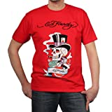 Ed Hardy Mens Magic Skull Graphic Tee