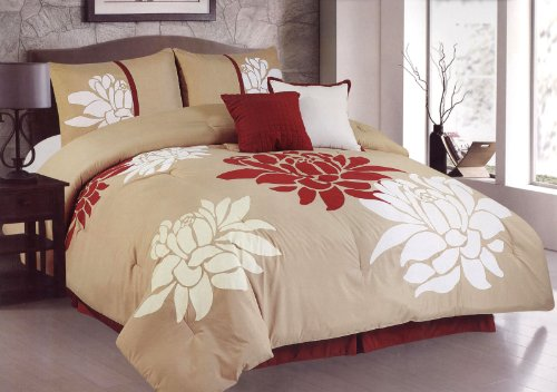 Floral Bedding Is Feminine And Lovely!