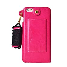 buy Hyait Iphone 6 Plus Multifunctional Feature Case With Neck Lanyard,Headphone Manage And Credit Card Slots,Pattern Wallet Packet Fashion Pu Leather Flip Phone Cover Case As Temporary Support For Iphone 6 Plus 5.5 Inch(Verizon, At&T, Sprint, T-Mobile, Inter