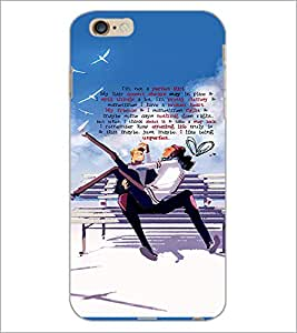 PrintDhaba Quote D-3035 Back Case Cover for APPLE IPHONE 6S (Multi-Coloured)
