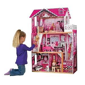 Amazon.com: KidKraft 65093 Amelia Dollhouse: Toys & Games