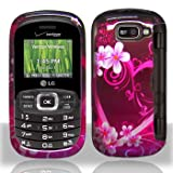 Premium - LG VN530/Octane Purple Love Cover - Faceplate - Case - Snap On -  ....