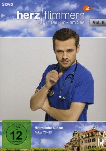 Herzflimmern - Die Klinik am See, Vol. 6 [3 DVDs]