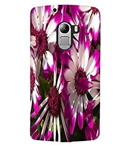 ColourCraft Beautiful Flowers Design Back Case Cover for LENOVO VIBE K4 NOTE