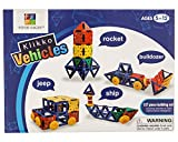 Klikko Vehicles: Educational Building Toy (137 pieces) with Activities to Learn Math / STEM Concepts, Ages 5+