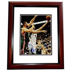 Ricky Rubio Autographed Hand Signed Minnesota Timberwolves 11x14 Photo MAHOGANY... by Real Deal Memorabilia