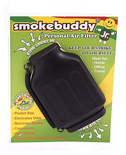 Black smokebuddy Jr Personal Air Filter by Smoke Buddy (Smokebuddy Jr Personal Air Filter compare prices)