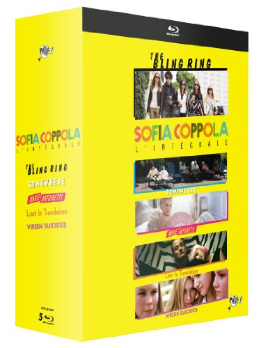 Sofia Coppola, l'intégrale - Coffret 5 films : The Bling Ring + Somewhere + Marie-Antoinette + Lost in Translation + The Virgin Suicides [Blu-ray]