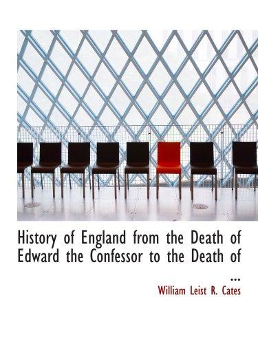 Geschichte von England nach dem Tod von Eduard dem Bekenner bis zum Tod des...