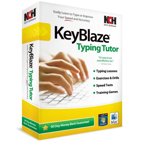 KeyBlaze Typing Tutor Software (PC/Mac) (Beginner Typing compare prices)