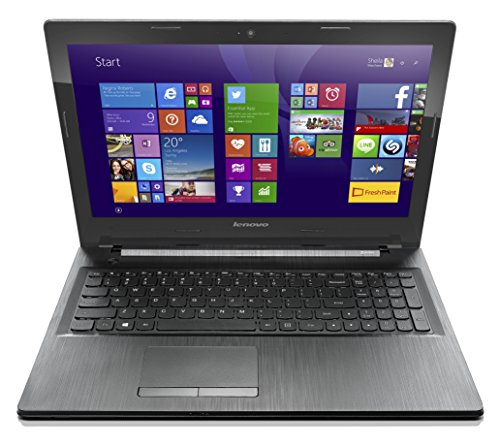 Lenovo G50 15.6-inch Laptop Notebook (Intel Celeron N2840 2.58 GHz, 4 GB DDRIIIL RAM, 500Gb HDD, DVDRW, Wi-Fi, BT, Camera, Integrated Graphics, Windows 8.1 with Bing) - Black with Free Windows 10 Upgrade