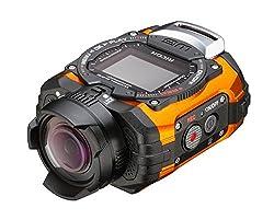 Ricoh WG-M1 14MP Waterproof Action Video Camera (Orange)