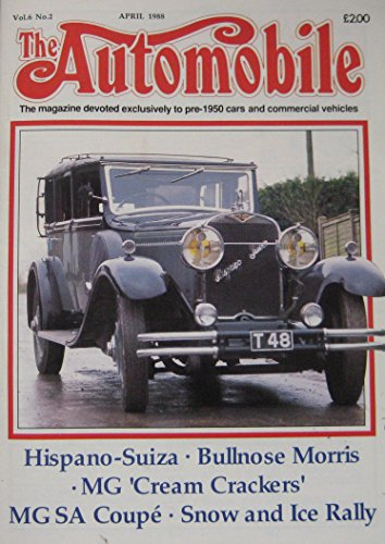 the-automobile-magazine-vol6-no2-04-1988-featuring-mg-morris-hispano-suiza