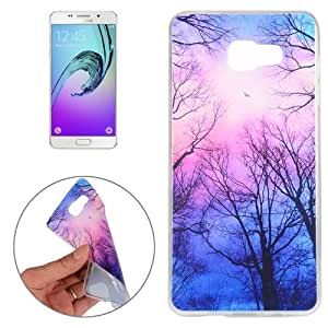 Crazy4Gadget For Samsung Galaxy A3 (2016) / A310 Trees and Clouds Pattern TPU Protective Case