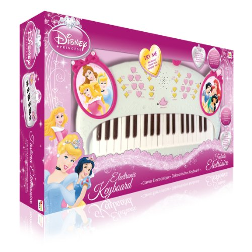 IMC Toys - 210660 - Instrument de Musique - Clavier Electronique - Disney Princess - Rose