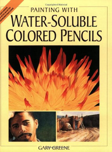 Painting with Water-soluble Colored Pencils