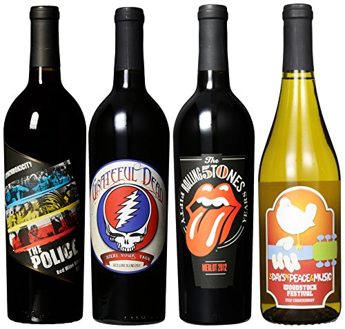 Wines That Rock, Rainbow Iii Mixed Pack, 4 X 750 Ml