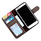 For Micromax Canvas HD A116 - PU Leather Wallet Flip Case Cover