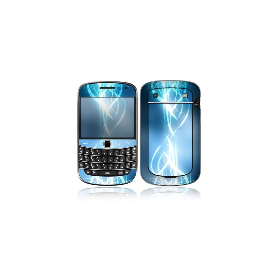 Electric Tribal Design Decorative Skin Cover Decal Sticker for BlackBerry Bold Touch 9930 9900 Cell Phone