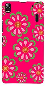 PrintVisa Pattern Abstract Floral Case Cover for Lenovo A7000