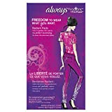 Always Radiant Infinity Regular With Wings Scented Pads 32 Count