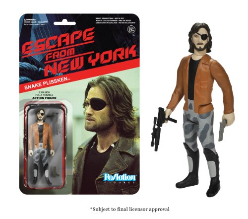 Funko Escape From New York ReAction Figure - Snake Plissken with Jacket