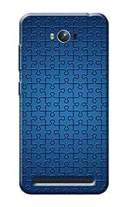 Asus Zenfone Max Cover KanvasCases Premium Designer 3D Printed Lightweight Hard Back Case