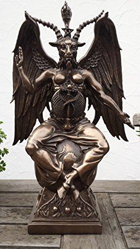Grande statuetta, soggetto: Satana, in bronzo, XL