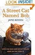 A Street Cat Named Bob by James Bowen book cover image