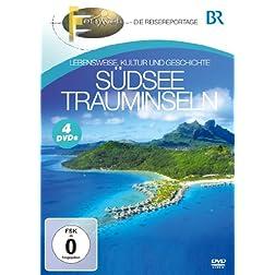 Südsee Trauminseln - Lebensweise, Kultur und Geschichte [4 DVDs]