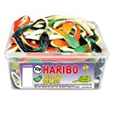 Haribo Yellow Belly Giant Snakes (Tub of 30)