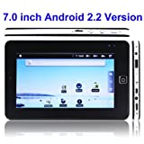 "Tablet Pc 7"" Zoll Android 2.2 // 1 GHz // 2GB Speicher (Bis zu 16 GB)// 3G // NEU (inklusive: Ebook reader, ereader,Wlan,Touchscreen,Videotelefonie,tablet, pda, Android 2.2 Froyo, Flash Support, 360° Lagesensor, HDMI,USB 2.0,G-Sensor) + EXTRA TASCHE"