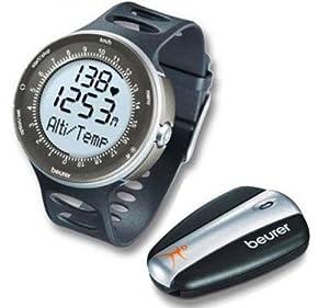 Beurer PM 90 Pack cardiofréquencemètre et podomètre